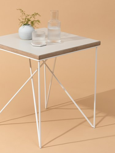 Rui modern square side table from Hunker Made