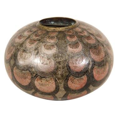 vintage art deco vase