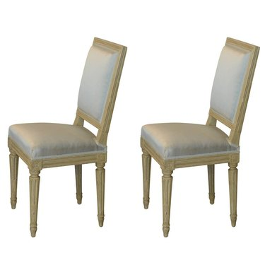 vintage art deco style chairs