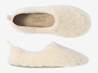 TOAST Shearling Sheepskin Slippers