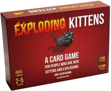 Exploding Kittens Card Game, $19.99