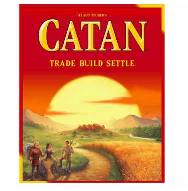 Settlers of Catan, $44.99