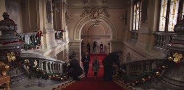 a christmas prince hallway