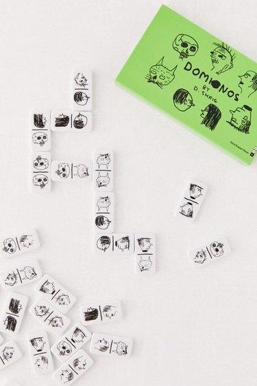 David Shrigley Domino Set, $44