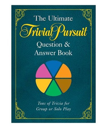 The Ultimate TRIVIAL PURSUIT® Question & Answer Book, $11.99
