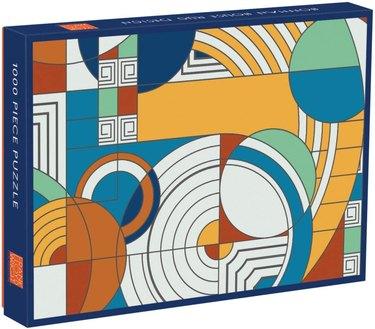 Galison Frank Lloyd Wright Foundation Hoffman House Rug Design 1,000 Piece Puzzle, $18.99