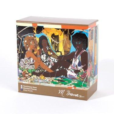 Le Dejeuner Puzzle by Mickalene Thomas, $27