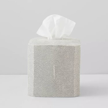 porcelain tissue box