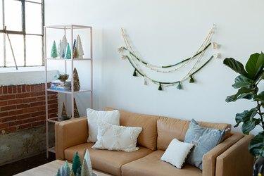 DIY Boho Rope and Tassel Holiday Garland