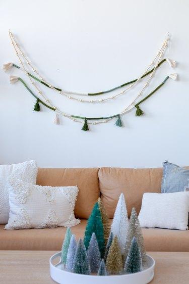 Boho Holiday Rope and Tassel Garland DIY