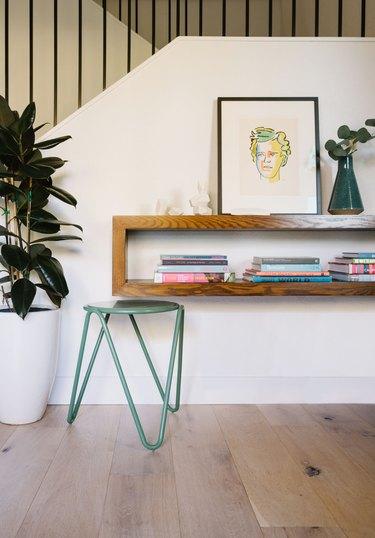 modern home interior design in entryway