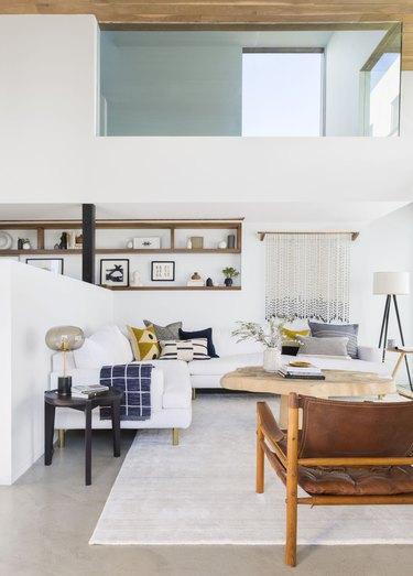 modern home interior design in living room
