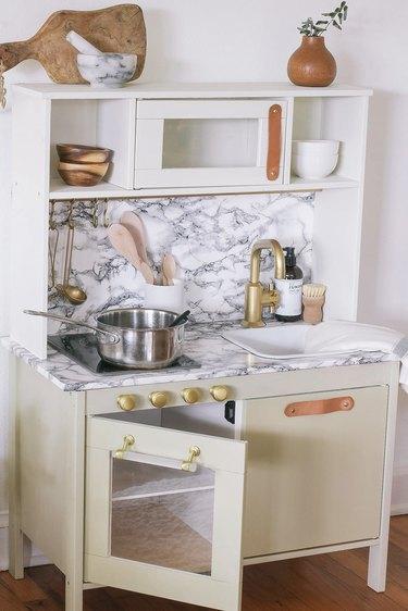 IKEA toy kitchen hack