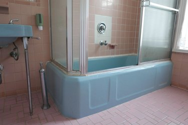 bath room before
