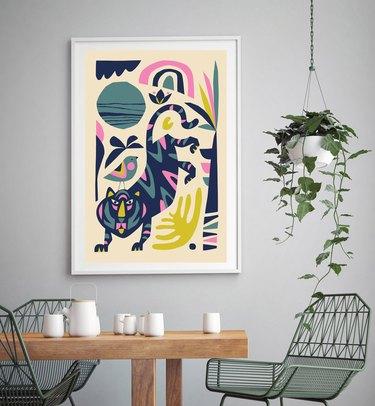 MyDreamWall Tiger Print
