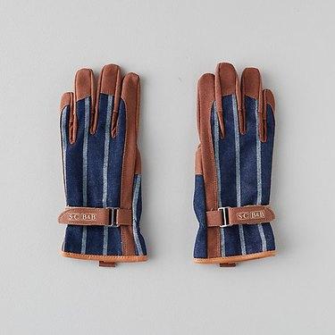 Terrain Leather Trimmed Everyday Garden Gloves