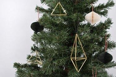 Himmeli-style DIY ornament