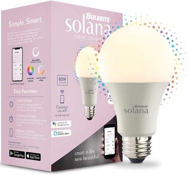 smart LED light bulb