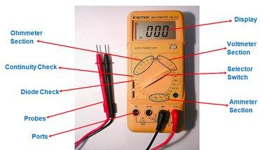 Multimeter schematic.
