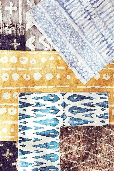 multicolored rugs