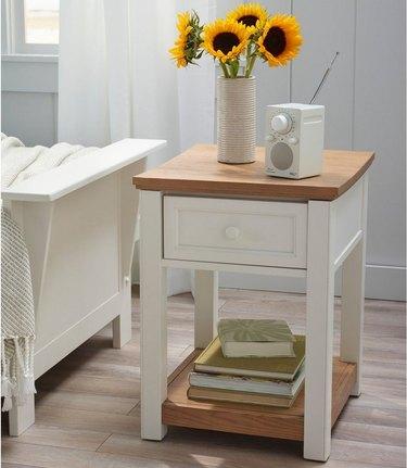 farmhouse style nightstand