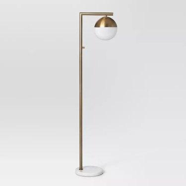 Project 62 Geneva Single Glass Globe Floor Lamp