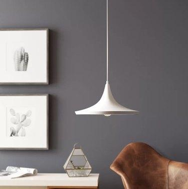 Langley Street Bradman 1-Light Single Cone Pendant