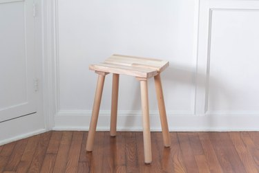 YPPERLIG stool assembled
