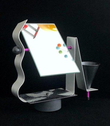 1980s Modern Vanity Swivel Mirror, $295