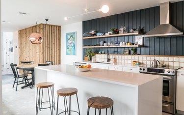 concrete kitchen floors in modern kitchen