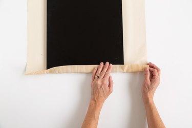 IKEA metal shelf DIY