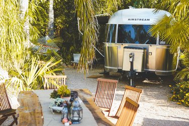 airstream trailer at caravan outpost