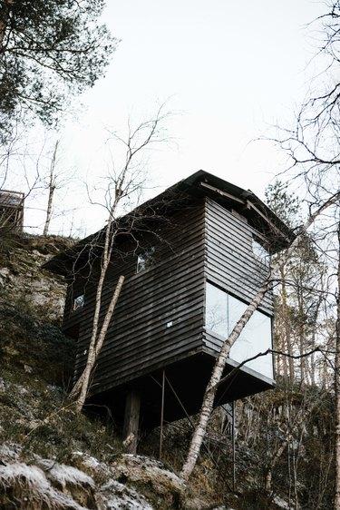 Birdhouse exterior