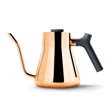 copper stovetop pour-over kettle
