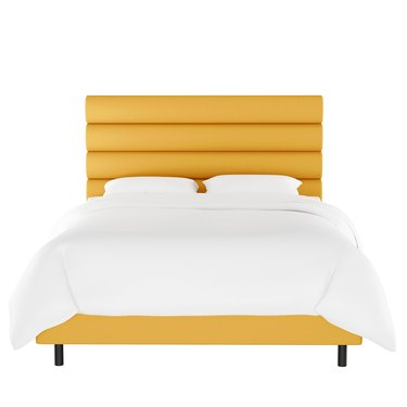 Opalhouse Velvet Horizontal Channel Bed, $770.99