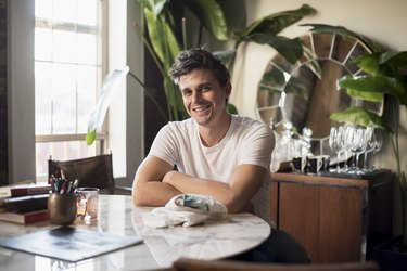 """Anthoni Porowski of """"Queer Eye"""" at the Village Den in NYC."""