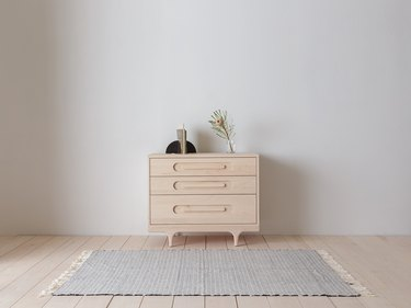 dresser for nursery storage