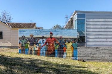 A mural in East Austin, Texas