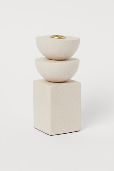 Candle holder from H&M Home's 2020 collection