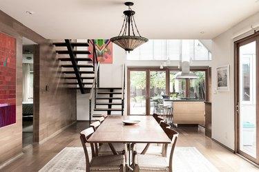 Mission Style Dining Room Lighting Idea Stephen Paul