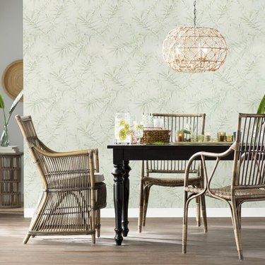 coastal dining room lighting with statement Globe Chandelier