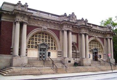 The Asser-Levy Public Baths building, on East 23rd St. in Manhattan.