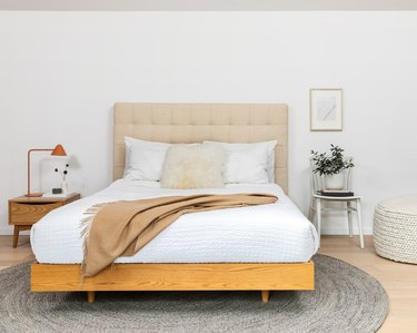 neutral-hued bedroom