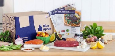 Blue Apron meal kit subscription box