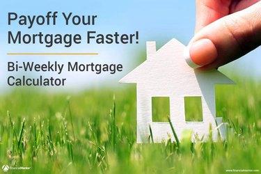 Bi-weekly mortgage graphic.