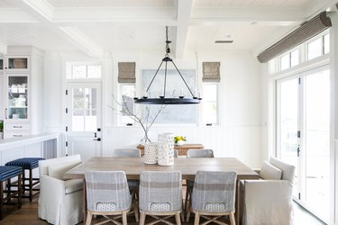 Transitional Dining Room Lighting Kelly Nutt