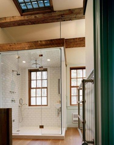 Farmhouse Shower Ideas Heritage Barns