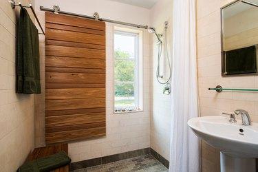 Farmhouse Shower Ideas Always by Design