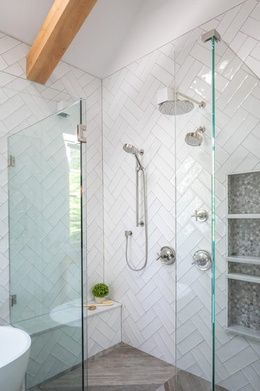 Farmhouse Shower Ideas Clearcut Construction & Co.