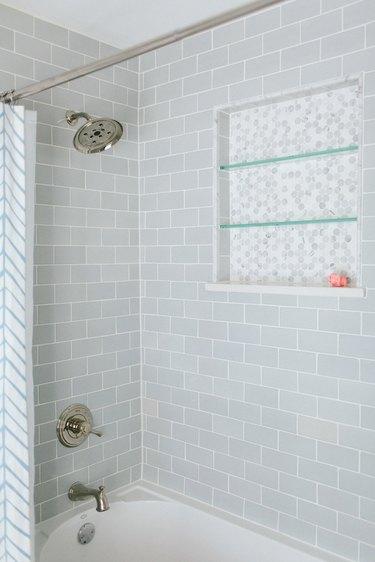 gray shower tile ideas katie marker interiors